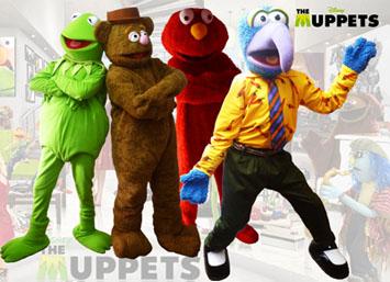The Muppets personajes en fiestas Medellin