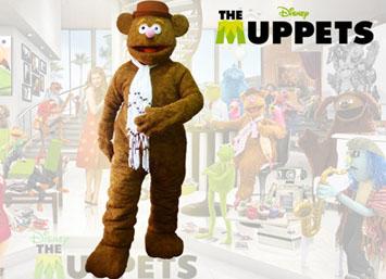 Muppets Fozzie el oso en eventos infantiles