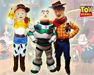 Personajes Toy Story  fiestas en medellin