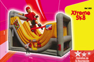 Patinaje Extremo Inflable