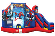 Spiderman Tobogán Inflable