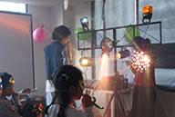 Chiquiteca con luces en medellin