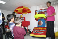 Concurso Infantil Basketball Inflable